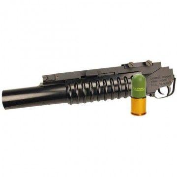Lanzagranadas + granada de 40 mm de ICS (Premium)