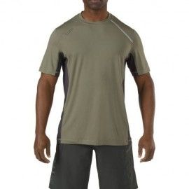 Camiseta RECON Adrenaline en color verde sage de 5.11 Tactical