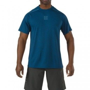 Camiseta RECON Triad en color Azul de 5.11 Tactical