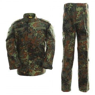 Uniforme militar en camuflaje Flecktarn Alemán de Dragonpro