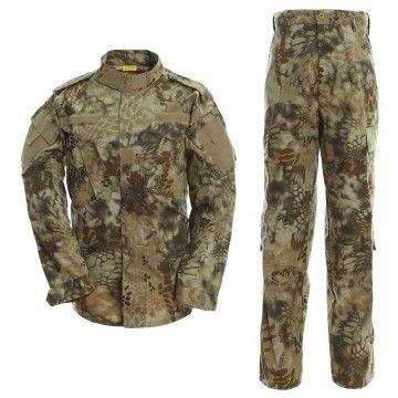 Uniforme militar en camuflaje Kryptek Highlander de Dragonpro