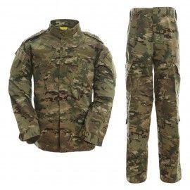 Uniforme militar en camuflaje multicam de Dragonpro