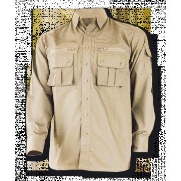 Camisa Cadet, de la marca Barbaric. Beige