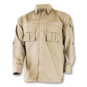 Cadet shirt, the Barbaric brand. Beige