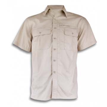 Cadet shirt sleeve, the Barbaric brand. Beige