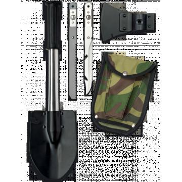 Pala de supervivencia Albainox con accesorios