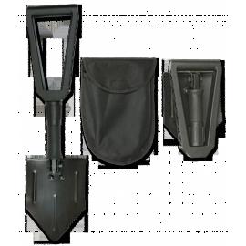 Pala plegable de supervivencia Albainox de 58 cm