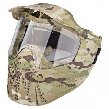 Casco / Máscara de protección completa en Multicam de Emerson