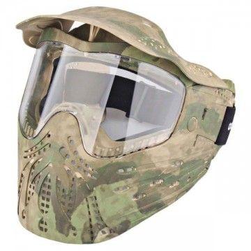 Casco / Máscara de protección completa en Atacs FG de Emerson