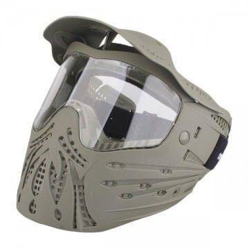 Casco / Máscara de protección completa en Gris de Emerson