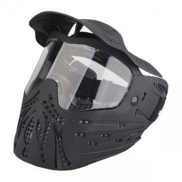 Casco / Máscara de protección completa en negro de Emerson