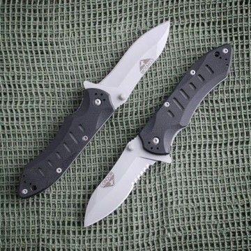 Navaja táctica Barracuda en negro de Condor