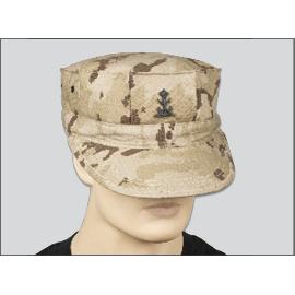 Gorra de infantería de marina. Árido pixelado.