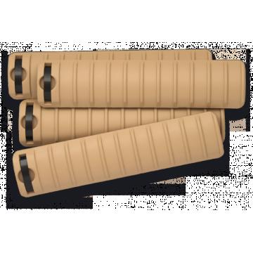 Hand Wachen / Cover Schienen für Waffen der Baureihe M. Marke Steinadler. Coyote