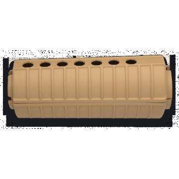 Hand Guard für Waffen der Baureihe M. Marke Steinadler. ABS-Coyote II