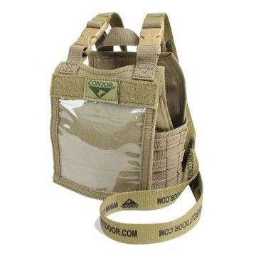Panel identificativo Exo plate carrier en coyote de Condor