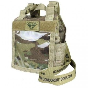 Panel identificativo Exo plate carrier en multicam de Condor