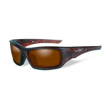 Gafas polarizadas Arrow Amber Matte Layered Tortoise de Wiley X