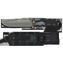 Cuchillo táctico GEO de RUI (Black)