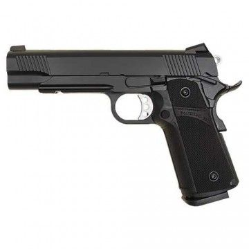 Pistola de Co2 K1911 (KP-05) HI-CAPA de KJ Works. Black