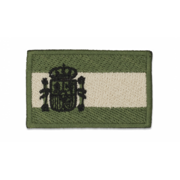 Bandera de España bordada en OD