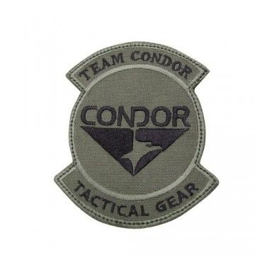 Parche Team Condor en OD bordado