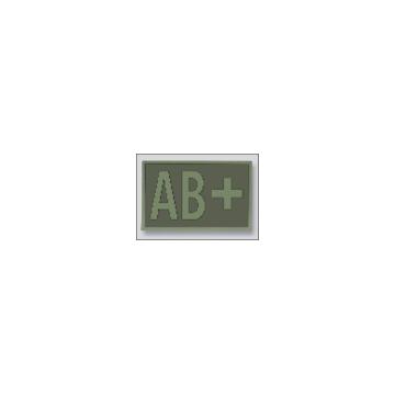 Parche Grupo Sanguíneo AB+ en OD