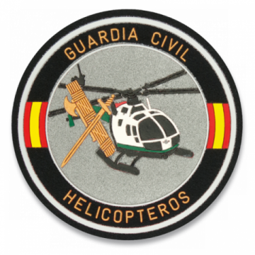 Parche de la Guardia Civil Helicópteros