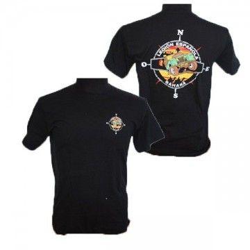 Camiseta Legión Española Sahara en color negro
