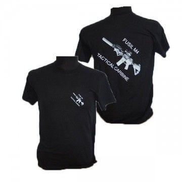 Camiseta táctica M4 Tactical en negro de Foraventure