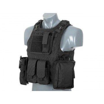Chaleco Táctico tipo FSBE en Negro
