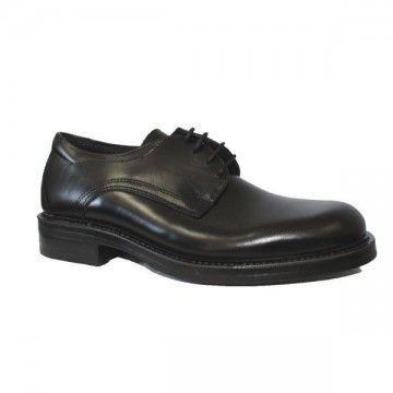 Zapato de oficial militar en color negro