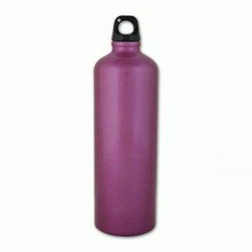 Botella de aluminio de 1 L en morado de Aventuralia