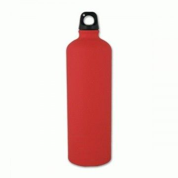 Botella de aluminio de 1 L en rojo de Aventuralia