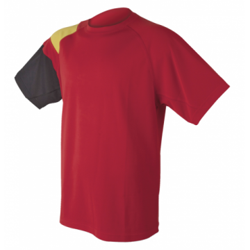 Camiseta técnica hombre España en rojo de Dry Fresh
