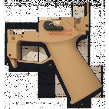 Grip- pistolete para las series G. Marca Golden Eagle. Coyote