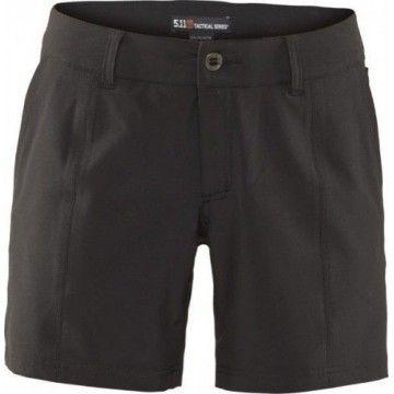 Pantalón corto Shockwave en negro para mujer de 5.11