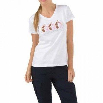 Camiseta Pistol Prep en blanco para mujer de 5.11
