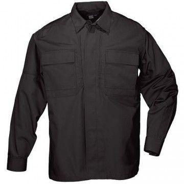 Camisa táctica TDU Algodón Twill en negro de 5.11
