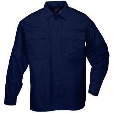 Camisa táctica TDU Algodón Twill en navy de 5.11