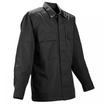 Camisa táctica TDU Ripstop en negro de 5.11