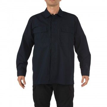 Camisa táctica TDU Ripstop en navy de 5.11