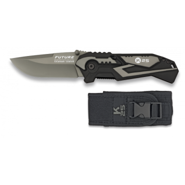 Navaja táctica Future en gris de K25