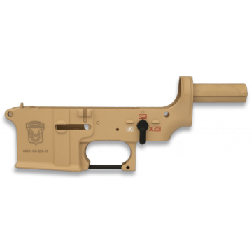 Lower body made of ABS, for weapons of the m brand Golden Eagle. Color Coyote II.