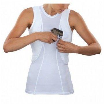Camiseta de mujer para uso táctico en blanco de 5.11