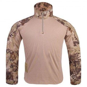 Camiseta Combat GEN3 en camuflaje Kryptek Highlander de Emerson