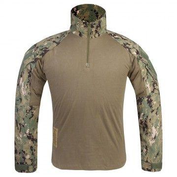 Camiseta Combat GEN3 en camuflaje AOR2 de Emerson