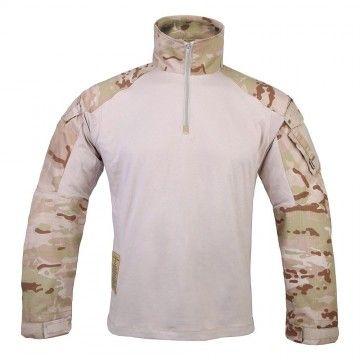 Camiseta Combat GEN3 en camuflaje Multicam árido de Emerson