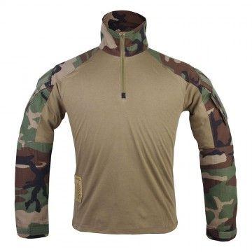 Camiseta Combat GEN3 en camuflaje Woodland de Emerson