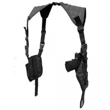 Funda de pistola tipo sobaquera shoulder en negro de Condor.